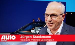 VW auf der IAA 2019