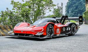 VW ID. R mit Tianmen-Rekord (China)