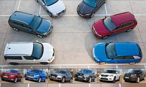Test: Audi Q2/Q5/Skoda Yeti/Kodiaq/Seat Ateca/VW Tiguan