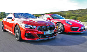 BMW M850i/Porsche 911 Turbo: Test
