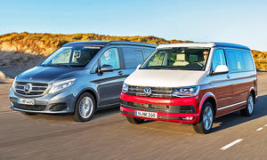 Mercedes Marco Polo/VW California Ocean: Vergleich