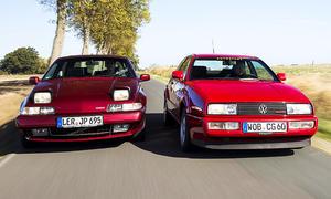 Volvo 480 2.0/VW Corrado G60: Vergleich