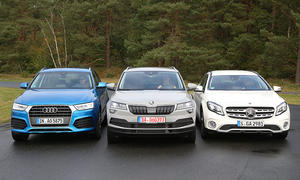Audi Q3 TFSI/Mercedes GLA 200/Skoda Karoq TSI