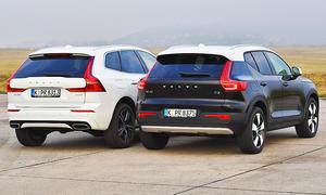 Volvo XC40/Volvo XC60: Test