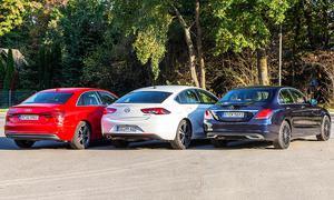 Audi A4/Mercedes C-Klasse/Opel Insignia: Test
