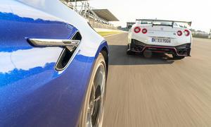 BMW M5/Nissan GT-R Nismo