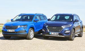 Hyundai Tucson/Skoda Karoq: Test