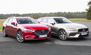 Mazda 6 Kombi/Volvo V60