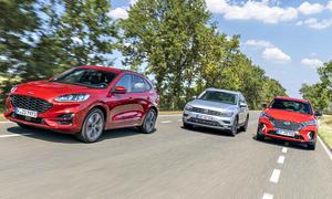 Ford Kuga/VW Tiguan/Hyundai Tucson