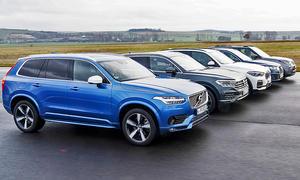 Audi Q7/BMW X5/Land Rover Discovery/Volvo XC90/VW Touareg: Test