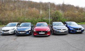 Ford Focus/Honda Civic/Mazda3/Opel Astra/VW Golf