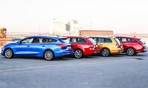 Ford Focus Turnier/Skoda Octavia Combi/VW Golf Variant/Hyundai i30 Kombi: Test