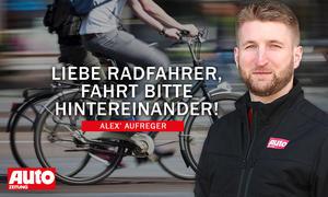 Alex' Aufreger: Radfahrer (StVO-Novelle)