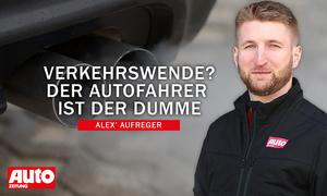 Alex' Aufreger: Verkehrswende