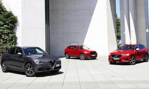 Alfa Romeo Stelvio/Jaguar F-Pace/Volvo XC60