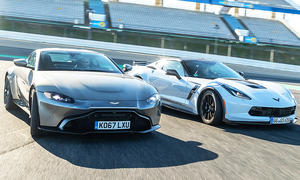 Aston Martin Vantage/Chevrolet Corvette Grand Sport: Test