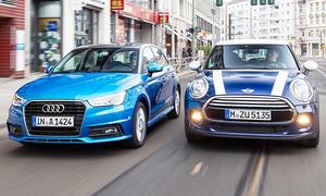 Mini Cooper Fünftürer/Audi A1 Sportback