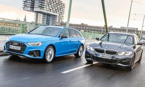 Audi A4 Avant/BMW 3er Touring