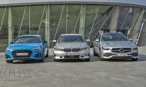 Audi A4 Avant/BMW 3er Touring/Mercedes C-Klasse T-Modell