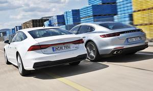 Audi A7 Sportback/Porsche Panamera