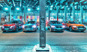 Hyundai Tucson/Mercedes GLA/BMW X1/Audi Q3