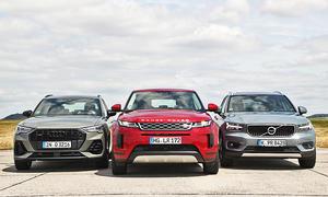 Audi Q3/Range Rover Evoque/Volvo XC40