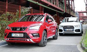 Audi Q3/Seat Ateca: Test
