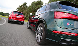 Audi SQ5/Mercedes-AMG GLC 43