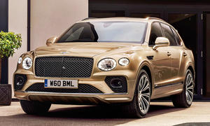 Bentley Bentayga Hybrid Facelift (2021)