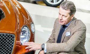 Bentley-Chefdesigner Stefan Sielaff