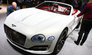 Bentley EXP 12 Speed 6e (Concept): Erste Bilder