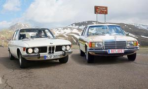 BMW 3.0 S/Mercedes 350 SE