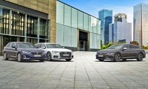 BMW 5er Touring/Audi A6 Avant/VW Arteon R Shooting Brake