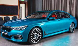 BMW 750Li: Tuning von Abu Dhabi Motors