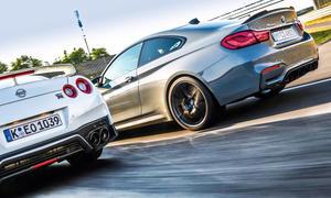 BMW M4 CS/Nissan GT-R Track Edition