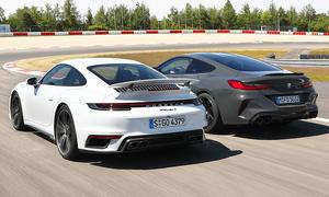 Porsche 911 Turbo S/BMW M8 Competition