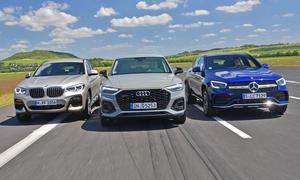 BMW X4/Audi Q5 Sportback/Mercedes GLC