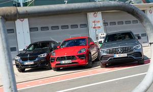 BMW X4 M40i/Porsche Macan GTS/Mercedes-AMG GLC 43 Coupé