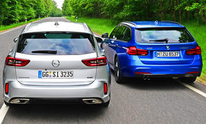 Opel Insignia Sports Tourer GSi/BMW 320d xDrive Touring