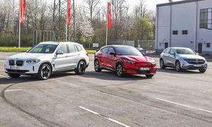 BMW iX3/Ford Mustang Mach-E/Mercedes EQC