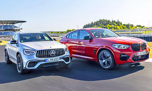 Mercedes-AMG GLC 63 S Coupé/BMW M4 Competition