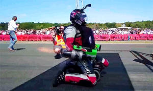 Bobby-Car: Weltrekord mit 119 km/h