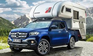 Camping-Aufbauten für Pickups