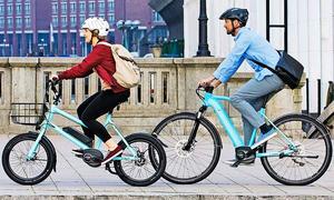 City-Bikes mit E-Motor