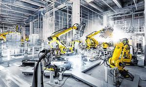Die Produktion des e-tron im belgischen Audi-Werk