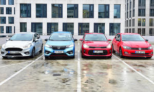 VW Polo/Ford Fiesta/Honda Jazz/Kia Rio