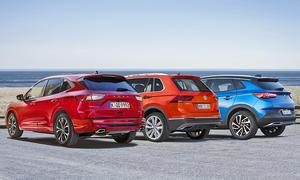 Ford Kuga/Opel Grandland X/VW Tiguan