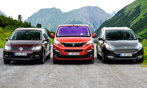 Ford Galaxy/Peugeot Traveller/VW Sharan: Test