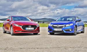 Mazda3 Fastback/Honda Civic