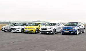 Hyundai i30/Mercedes A-Klasse/VW Golf/BMW 1er/Opel Astra